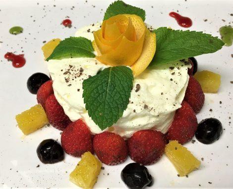 Dessert des Cafe de mar