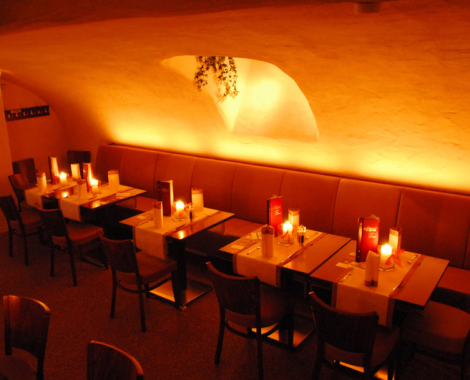 Restaurantbereich Cafe de mar