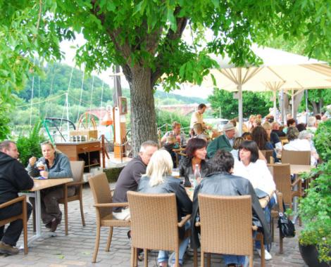 Foto der Terasse des Cafe de mar